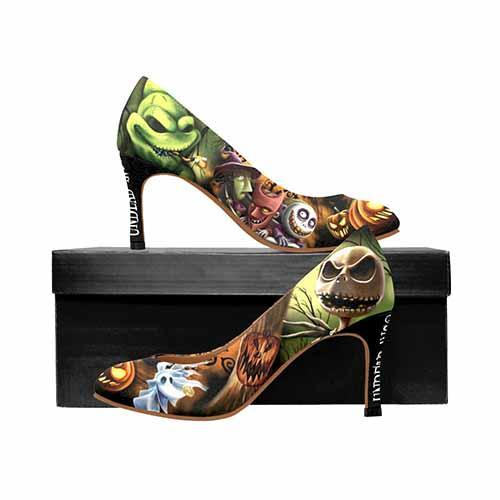 Nightmare Before Christmas Pumpkin King MEDIUM High Heels