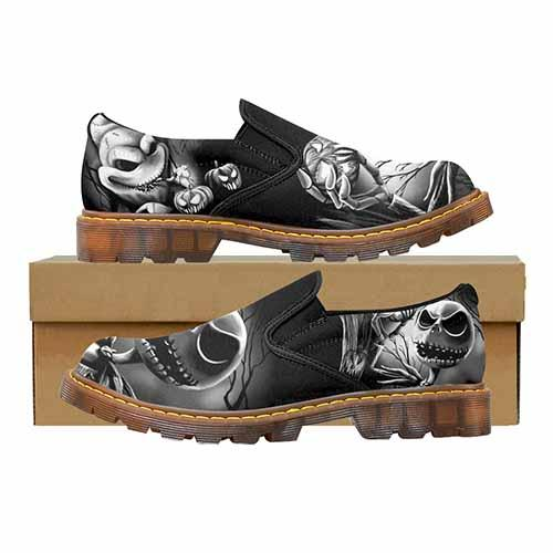 Nightmare Before Christmas Men's Martin Loafer Shoes
