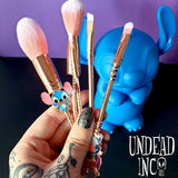 Stitch Makeup Brush & 3D Bag Set Undead Inc Collection