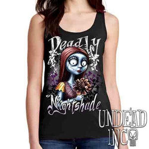 Sally Deadly Nightshade - Ladies Singlet Tank