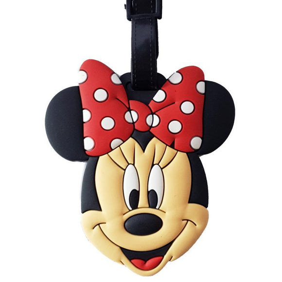 Minnie Mouse Bag Tag