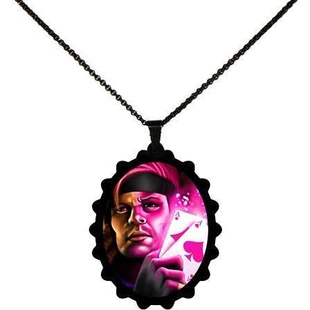 Gambit Marvel X-Men STAINLESS STEEL Necklace - Undead Inc ,