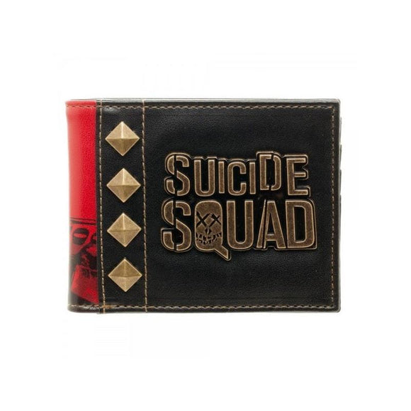 Suicide Squad Pu Leather Logo Wallet