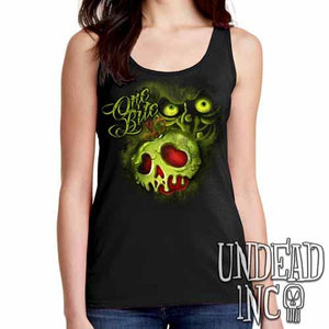 Villains One Bite Poison Apple  - Ladies Singlet Tank