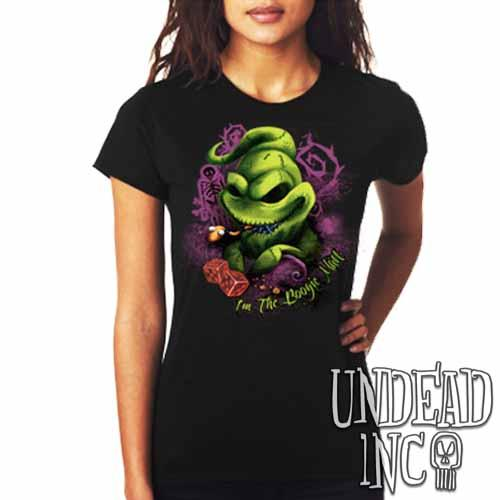 Nightmare Before Christmas Oogie Boogie - Ladies T Shirt Ladies T-shirts Undead Inc