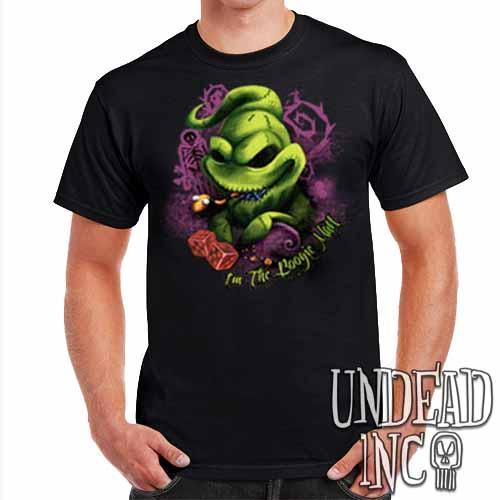 Nightmare Before Christmas Oogie Boogie - Mens T Shirt Mens T-shirts Undead Inc