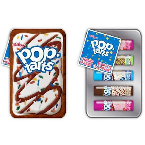 Pop Tarts Flavored Lip Balm Tin Gift Set