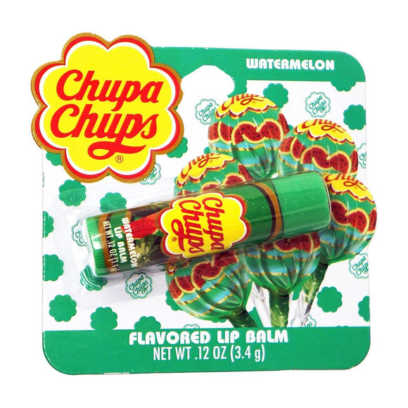 Chupa Chups Watermelon Candy Flavoured Lip Balm - Undead Inc Lip Balm,