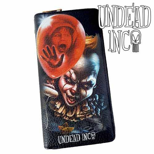 IT Pennywise Undead Inc Premium Pu Leather Long Line Wallet