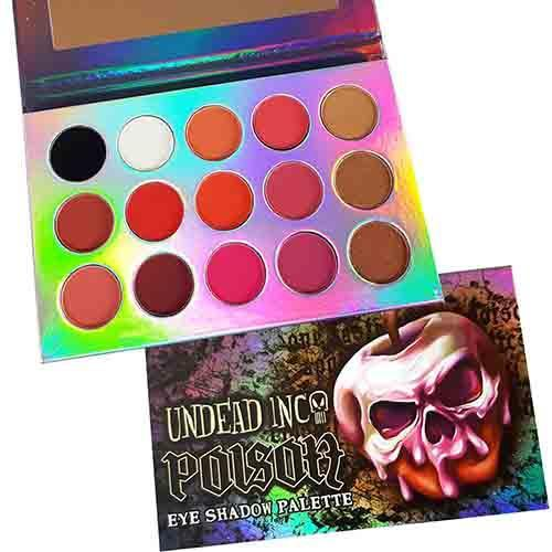 Poison Undead Inc Eye Shadow Palette