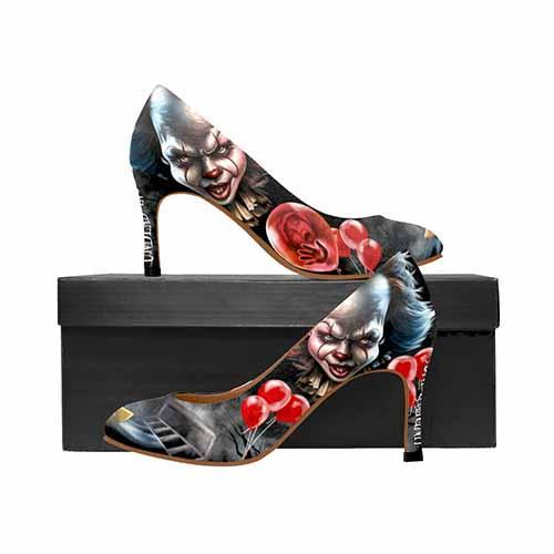 IT Pennywise Horror MEDIUM High Heels