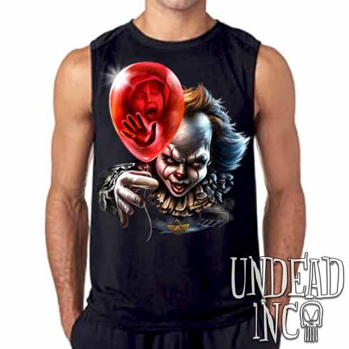 IT Pennywise Balloon Mens Sleeveless Shirt