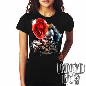 IT Pennywise Balloon - Ladies T Shirt
