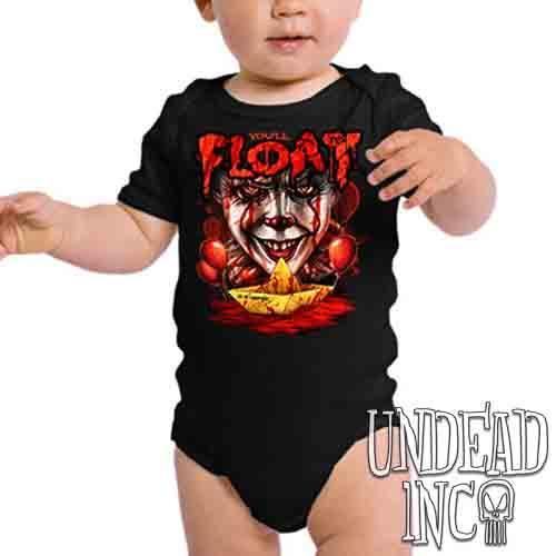 IT Pennywise You'll Float Too - Infant Onesie Romper