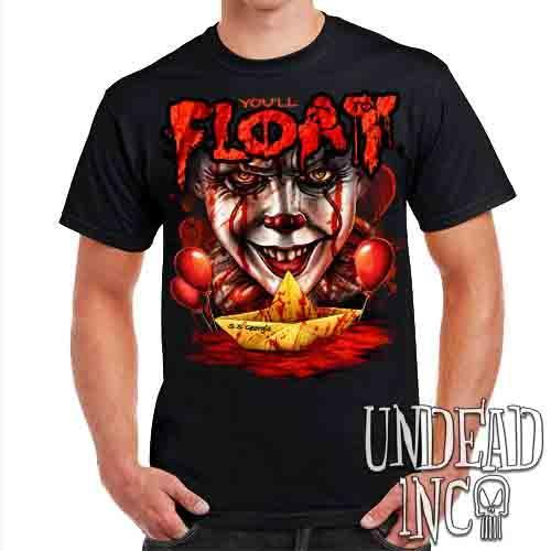 IT Pennywise You'll Float Too - Mens T Shirt