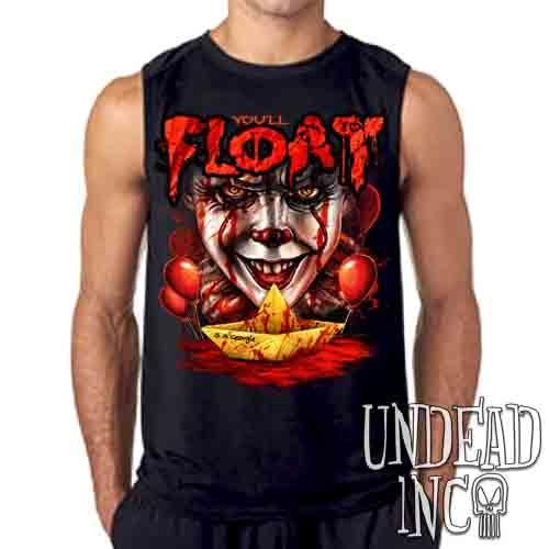 IT Pennywise You'll Float Too - Mens Sleeveless Shirt