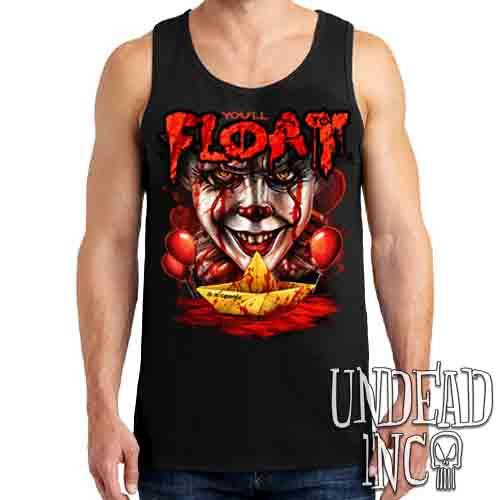 IT Pennywise You'll Float Too - Mens Tank Singlet