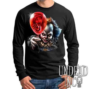 IT Pennywise Balloon - Mens Long Sleeve Tee