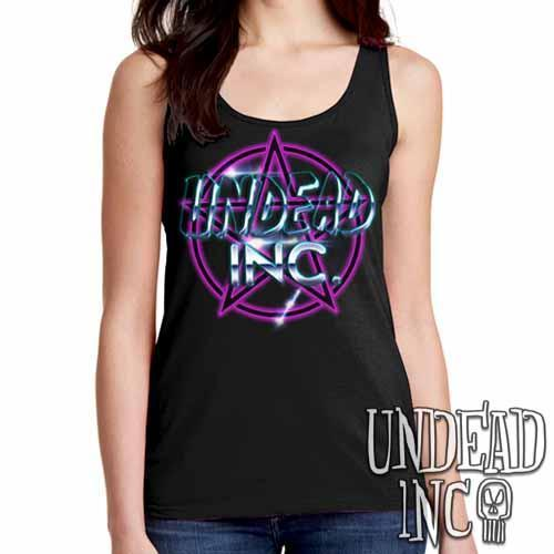 Undead Inc Pentagram - Ladies Singlet Tank