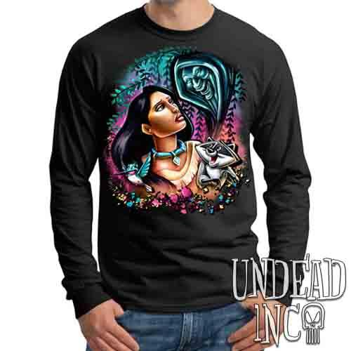 Pocahontas Colors Of The Wind - Mens Long Sleeve Tee