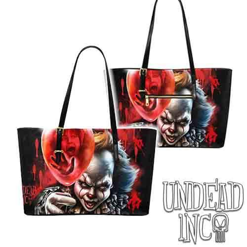 IT Pennywise Large Pu Leather Handbag / Shoulder Bag