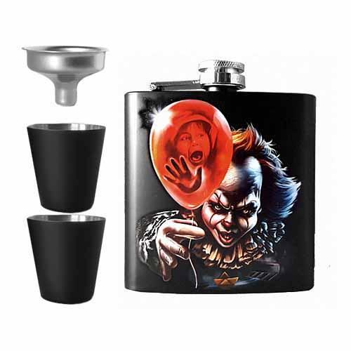IT Pennywise Undead Inc Hip Flask Set