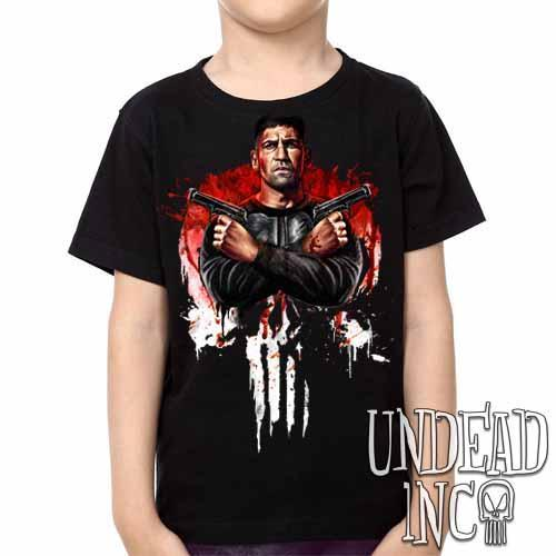 Punisher -  Kids Unisex Girls and Boys T shirt Clothing