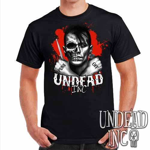 Punk Off Undead Inc Crossbones - Mens T Shirt