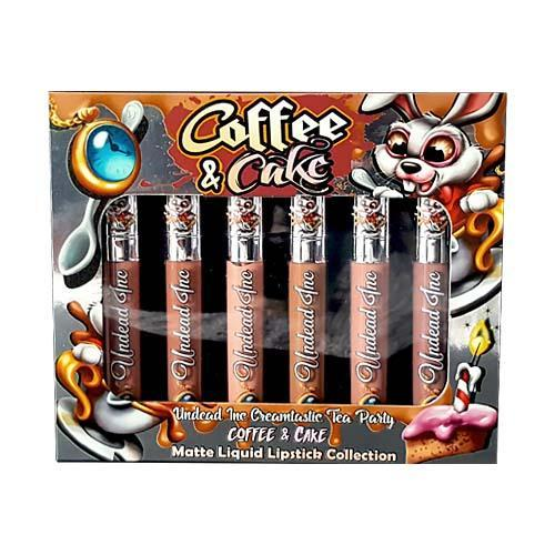 Undead Inc COFFEE & CAKE - Tea Party Matte Liquid Lipstick Collection