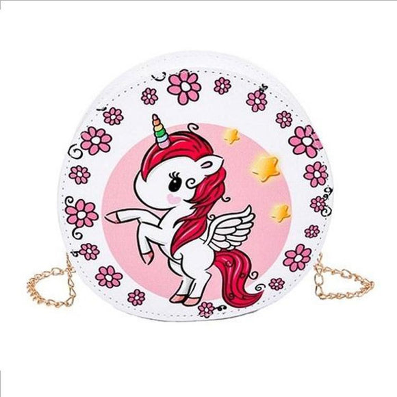 Tokidoki Unicorno Shoulder Bag / Clutch With Gold Chain