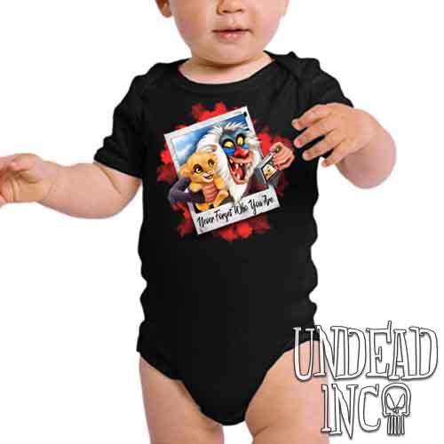 The Lion King Simba and Rafiki Selfie - Infant Onesie Romper