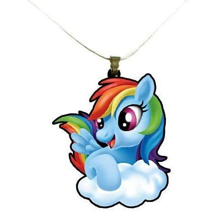 My Little Pony Rainbow Dash Necklace
