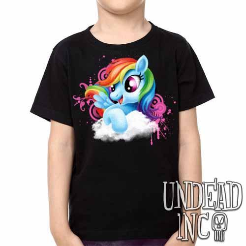 Rainbow Dash My Little Pony -  Kids Unisex Girls and Boys T shirt