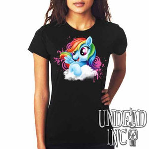 Rainbow Dash My Little Pony - Ladies T Shirt