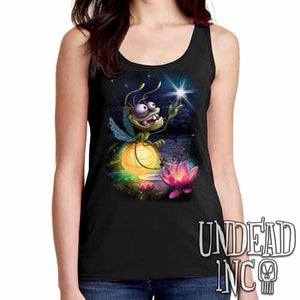 Princess and the Frog Ray - Ladies Singlet Tank