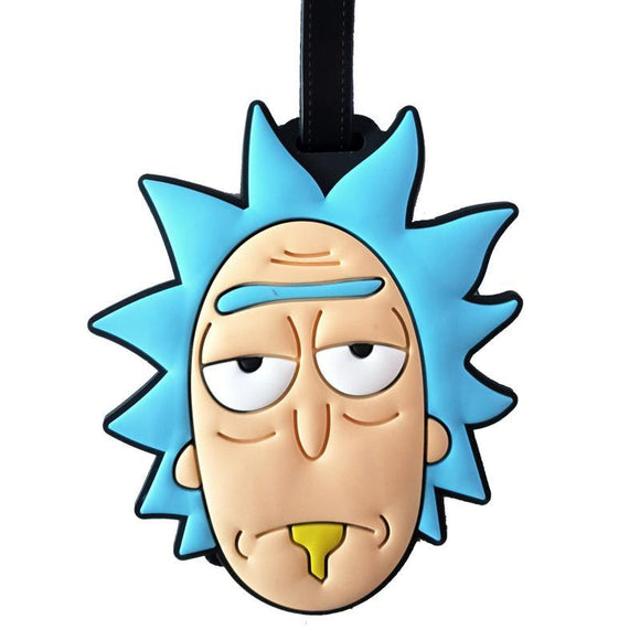 Rick & Morty - RICK Bag Tag