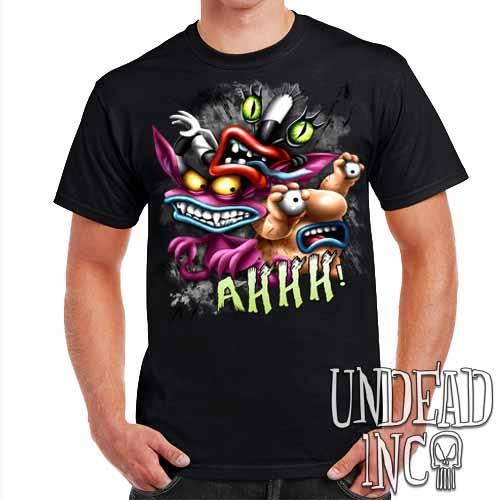 AHH! Real Monsters - Mens T Shirt - Undead Inc Mens T-shirts,