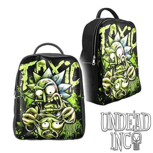Rick Turning Toxic - Undead Inc Pu Leather Back Pack