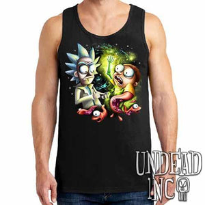 Space Worms - Mens Tank Singlet