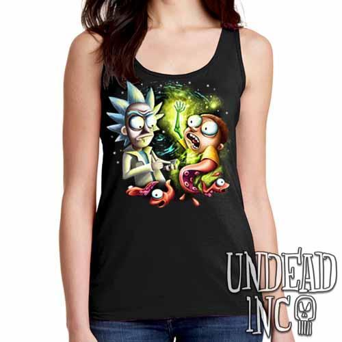 Space Worms - Ladies Singlet Tank