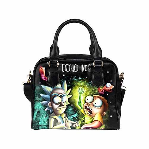 Rick and Morty Shoulder / Hand Bag Shoulder Handbags Undead Inc