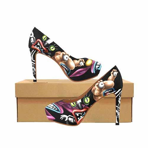 Real Monsters Platform High Heels