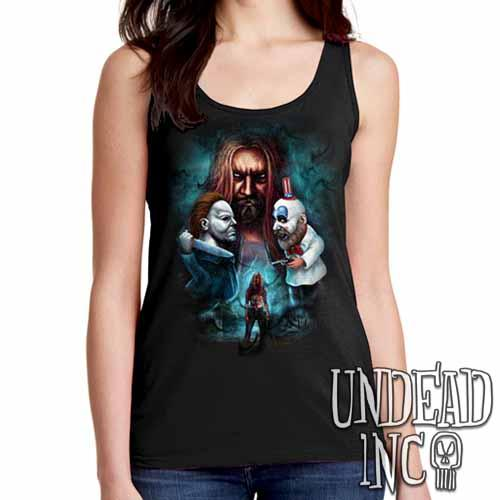 Rob Zombie- Ladies Singlet Tank