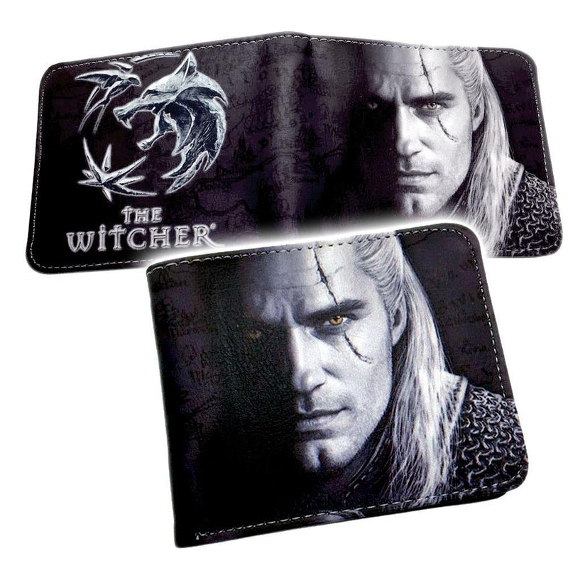 Witch Pu Leather Wallet Wallet Witcher