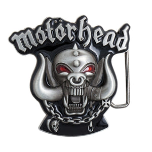 Motorhead War Pig Logo Belt Buckle