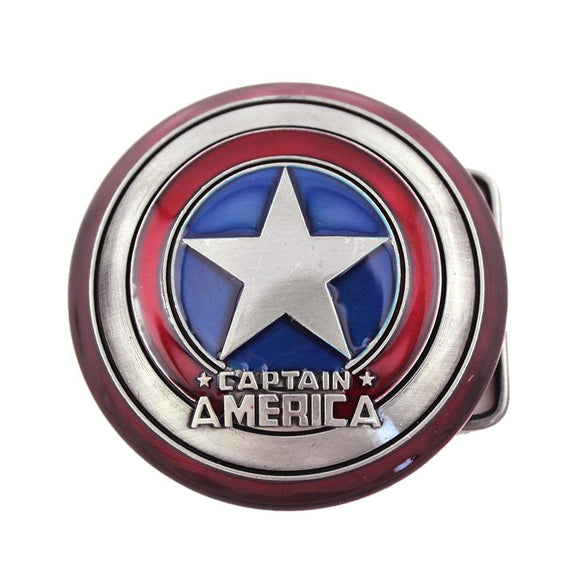 Captain America Shield Belt Buckle - Undead Inc Belt Buckle,