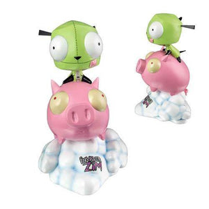 "Invader Zim Gir on Pig 10"" Statue - Undead Inc Statues,"