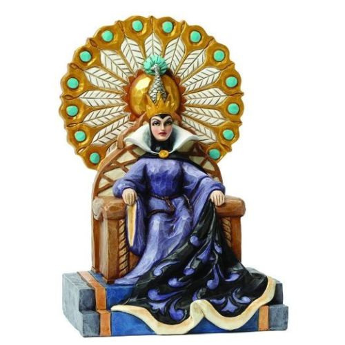 Disney Villains Snow White Evil Queen Enthroned Statue - Undead Inc Disney Statues,