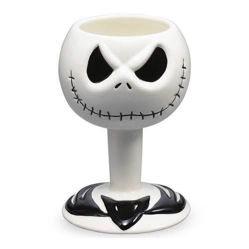 Nightmare Before Christmas Jack Skellington Head Special 20 Yrs Goblet