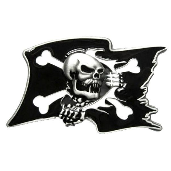 Pirate Flag Belt Buckle
